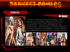 Darkest Comics. BDSM art in its best - all your favorite BDSM artist`s works collection!