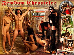 Femdom Chronicles. Femdom stories illustrated by femdom art, femdom comics and exclusive artworks!