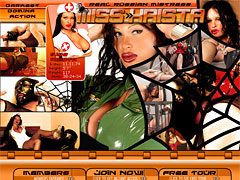 Mistress Krista. Personal site of russian mistress Kristina, full of her private femdom movies and pics galleries - all exclusive materials!