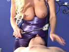 Dominant Brittany Andrews Smothering Obedient Slave