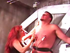 Hell Mistress gives serious cock and ball training