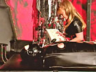 Rubber Mistress practices rubber mummification