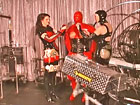 Rubber Mistress` serious games with her rubber dolls