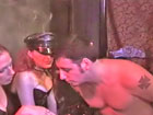 Smoking Mistresses start their severe femdom party