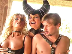 Two slaves immured in a tower by Dark Mistress